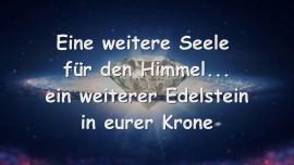2015-03-25 - Eine weitere Seele fuer den Himmel... ein weiterer Edelstein in eurer Krone