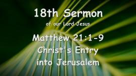 18th Sermon of Jesus