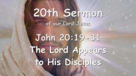 20th Sermon of Jesus