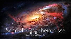 Schöpfungsgeheimnisse von Jesus offenbart durch Gottfried Mayerhofer