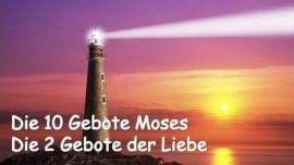 Titel 10 Gebote Gottes Mose - 2 Gebote der Liebe