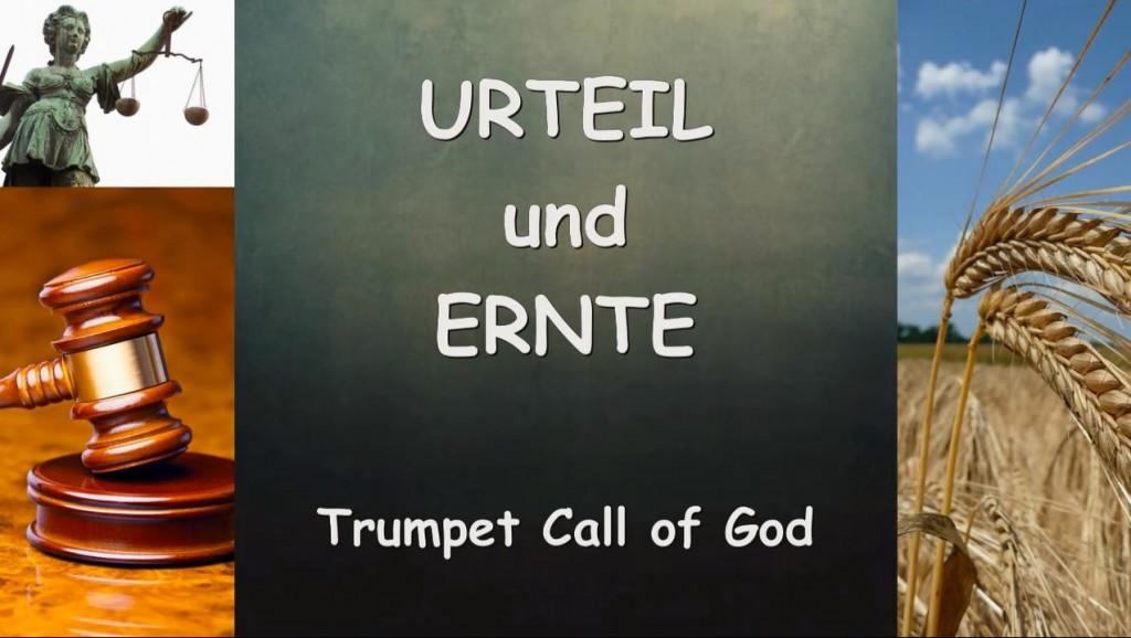Trompete Gottes - URTEIL Und ERNTE