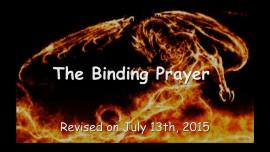 2015-07-13 - The Binding Prayer