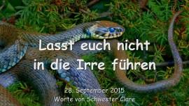 2015-09-28 - Lasst euch nicht in die Irre fuehren