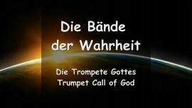 Die Baende der Wahrheit - Die Briefe von Gott - Trompete Gottes