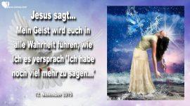 2015-11-12 - Wahrsagung-Geist der Wahrheit-Der Heilige Geist-Wahrheit und Klarheit-Liebesbrief von Jesus