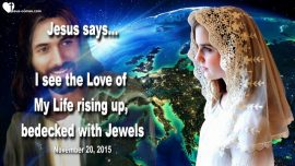 2015-11-20 - Bride with Torch-The Lords Bride-Church of Christ-Body-Love of My Life-Jewels-Love Letter from Jesus