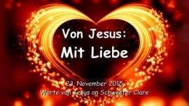 2015-11-23 - VON JESUS - Mit Liebe