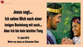 2015-04-13 - Einladung von Jesus-Beziehung mit Jesus-Vertraute Beziehung mit Jesus-Liebesbrief von Jesus