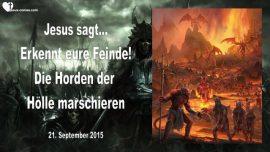 2015-09-21 - Feine erkennen-Horden der Hoelle-Daemonen-Christen-Liebesbrief von Jesus-Vision Rick Joyner