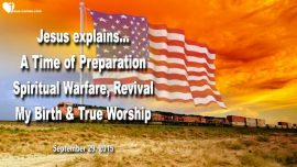 2015-09-29 - Time of Preparation-Spiritual Warfare-Christmas-Revival-True Worship-Love Letter from Jesus