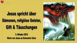 2015-10-03 - Dämonen-Religiöse Geister-Gift-Täuschungen-Liebesbrief von Jesus