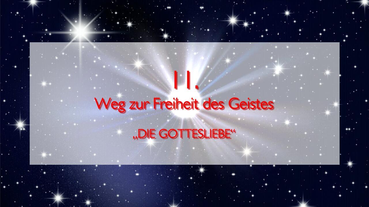 JESUS erlaeutert das ELFTE GEBOT im Werk Geistige Sonne Band 2 - Offenbart an Jakob Lorber-1280