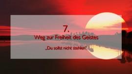 JESUS erlaeutert das SIEBTE GEBOT im Werk Geistige Sonne Band 2 - Offenbart an Jakob Lorber