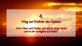 JESUS erlaeutert das VIERTE GEBOT in der Geistigen Sonne Band 2 - Offenbart an Jakob Lorber
