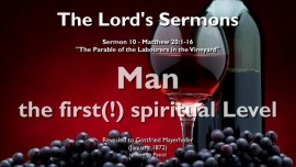 SERMON OF THE LORD-10-THE LORD Elucidates Matthew 20_1-16-PARABLE OF THE LABOURERS IN THE VINEYARD-Gottfried Mayerhofer