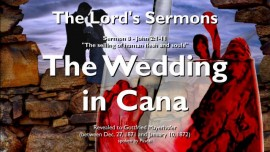 SERMONS OF THE LORD-08-JohN-2_1-11 The Wedding in Cana and Water to Wine-Gottfried Mayerhofer