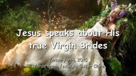 2015-01-09 - Jesus speaks about His true Virgin Brides
