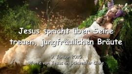 2015-01-09 - Jesus spricht ueber Seine treuen jungfraeulichen Braeute