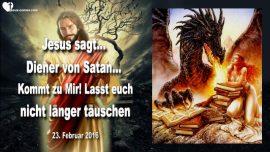 2016-02-23 - Diener von Satan-Einladung von Jesus-Satanist-Hexenzirkel-Hexerei-Zauberei-Tauschung-Liebesbrief von Jesus