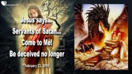 2016-02-23 - Servants of Satan-Invitation from Jesus-Satanist-Witchcraft-Sorcery-Coven-Deception-Love Letter from Jesus