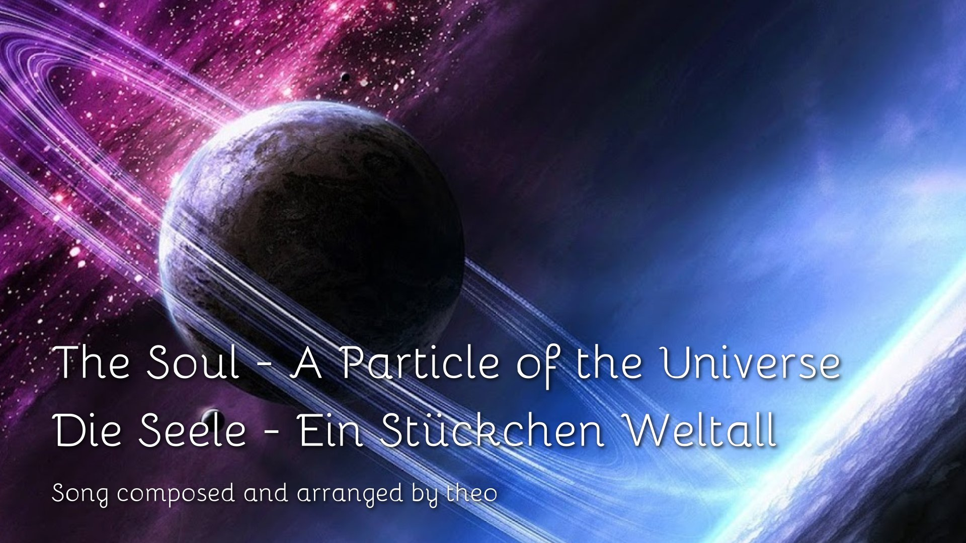 Lied-Die Seele-Ein Stueckchen Weltall-Song-The Soul-A Particle of the Universe-1920