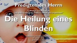 PREDIGTEN DES HERRN-12- Lukas 18 35-43 - Heilung eines Blinden-Gottfried Mayerhofer