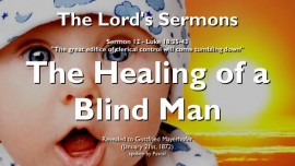 SERMON OF THE LORD-12-Luke 18 35-43-Healing of a blind man-Gottfried Mayerhofer