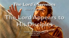 THE LORDS SERMONS-20-John-20_19-31 The Lord Appears to His Disciples-Gottfried Mayerhofer