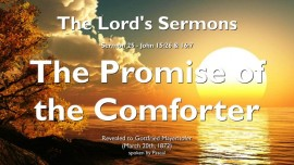 The-Lords-Sermons-25-John-15_26-16_7-The-Promise-of-the-Comforter-Gottfried-Mayerhofer