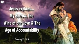 2016-02-29 - Sorrow of Jesus-Wine of Love-Age of Accountability-Love Letter from Jesus Christ