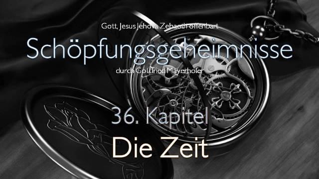 Gott offenbart Schoepfungs-Geheimnisse - Die Zeit - Gottfried-Mayerhofer
