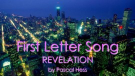 Pascal Hess First Song LoveLetter from Jesus Revelation