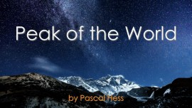 Pascal-Hess Second Song LoveLetters from Jesus Peak of the World