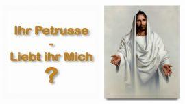 Schrifttexterklaerungen Jakob Lorber-Matthaeus-28_17-Einige zweifelten-Petrus liebst du Mich-Liebesbrief von Jesus