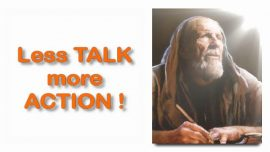 Scripture Explanations Jakob Lorber-12-Acts 27_24 Do not be afraid Paul-Less Talk-More Action
