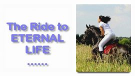 Scripture Explanations Jakob Lorber-Matthew-21_7-The Ride to Eternal Life-donkey Jesus-Humility-true Love