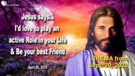 2016-04-30 - intimate Relationship with Jesus-Who is Jesus your best Friend-Love Letter From Jesus