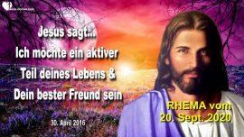 2016-04-30 - vertraute Beziehung mit Jesus-Wer ist Jesus dein bester Freund-Liebesbrief von Jesus Rhema