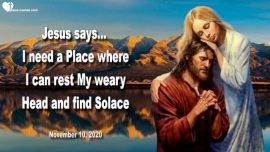 2020-11-10 - Place of Rest Head of Jesus Heart Solace Comfort-Refuge Sangre de Cristo Mountains-Love Letter from Jesus