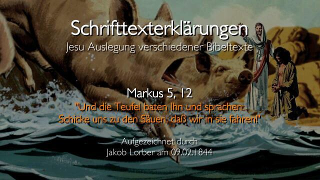 29-Jesus-erklaert-Schrifttexte-Markus-5_12-Teufel-zu-den-Saeuen-Jakob-Lorber