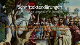 31 Jesus erklaert Bibelstellen - Lukas-19_4 Zachaeus - Jakob Lorber
