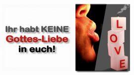 Schrifttexterklarungen Jakob Lorber deutsch-Johannes 5_42-Die Liebe Gottes habt ihr nicht in euch