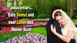2016-05-31 - Demut Kleinheit Anonymitat Leben aus Sicht des Herrn-Liebesbrief von Jesus Christus