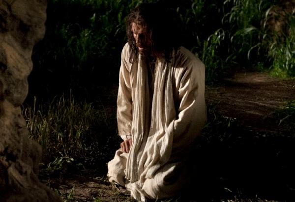 2016-06-10 - Jesus schwitzt und weint im Garten Getsemane - Stationen des Kreuzes