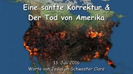 2016-07-13 - Eine sanfte Korrektur und der Tod von Amerika