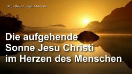 Das Grosse Johannes Evangelium Jakob Lorber-Sonnenaufgang Jesu Christi im Herzen des Menschen-Liebesbrief von Jesus-1280