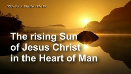 The Great Gospel of John Jakob Lorber-Sunrise-Rising Sun of Jesus Christ in the Heart of Man-Love Letter from Jesus