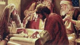 Justifié par les livres de règle ou par votre relation avec moi ... Jésus explique