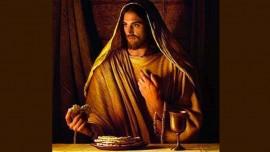 Иисус объясняет сверхъестественную силу празднования хлебопреломления